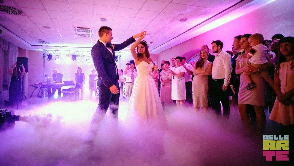 Ciężki dym wesele Konin