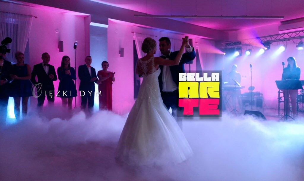 Ciężki dym na wesele Konin
